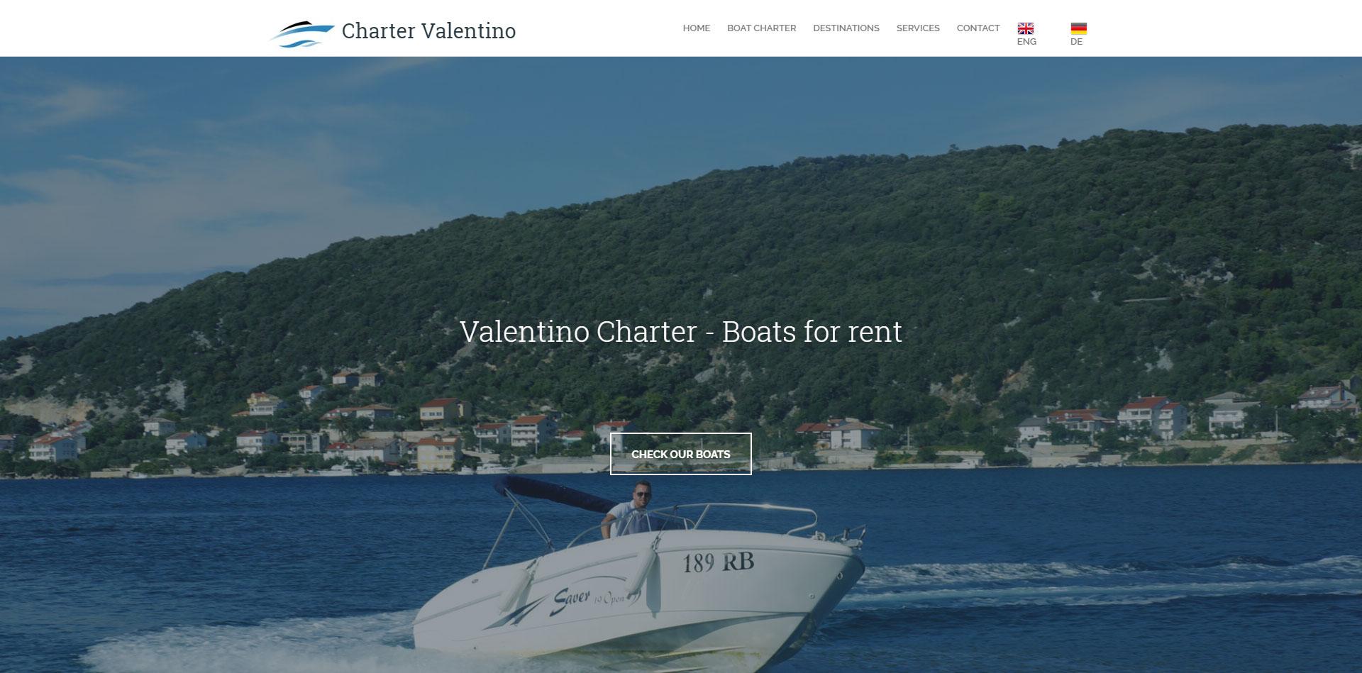 Valentino Charter - http://valentino-charter.com/